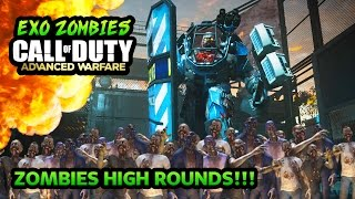 getlinkyoutube.com-Call of Duty: Advanced Warfare - Zombies Highest Round Try-Harding! (Call of Duty Zombies Gameplay)
