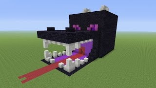 getlinkyoutube.com-Minecraft Tutorial: How To Make A ENDER DRAGON Survival House (ASH#24)