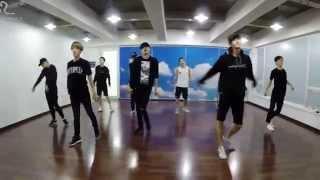 getlinkyoutube.com-EXO 'Love Me Right' mirrored Dance Practice