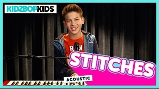getlinkyoutube.com-Stitches - Shawn Mendes (Cover by Grant from KIDZ BOP)