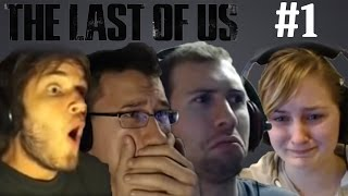 getlinkyoutube.com-YouTubers React To: The Last Of Us #1