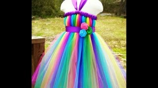 getlinkyoutube.com-How To Wrap Ribbon Around a Tutu Dress