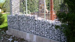 getlinkyoutube.com-Gabionenwand Garten und Design
