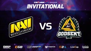 getlinkyoutube.com-Na'Vi vs Godsent, map 2 mirage, Starladder i-League Invitational