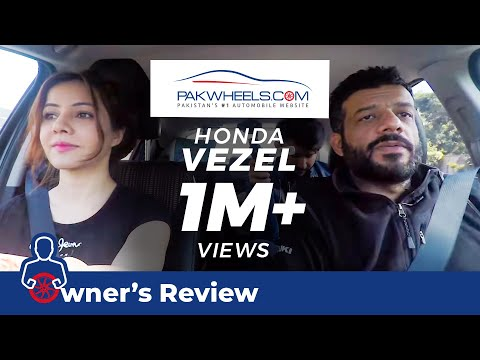 Rabi Pirzada's Honda Vezel Review | Price, Specs & Features | PakWheels
