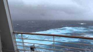 Cruise Ship in Bermuda Triangle Storm