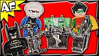 getlinkyoutube.com-Lego Batman BATCAVE: Penguin and Mr. Freeze's Invasion 7783 DC Comics Super Heroes Build Review