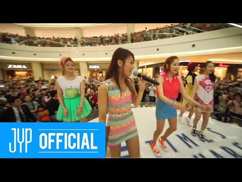 Wonder Girls _ Like this _ FLASHMOB & MINI EVENT