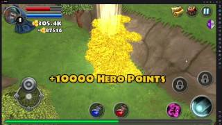 Dungeon Quest Hero Points and Gold Hack