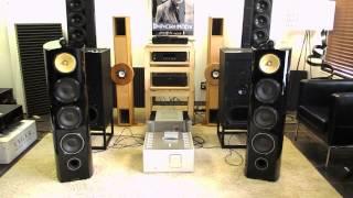 getlinkyoutube.com-B&W 803 Diamond, Luxman M 800A, passive pre, Nakamichi MB 8 CD
