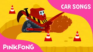 getlinkyoutube.com-Bulldozer | Car Songs | PINKFONG Songs for Children