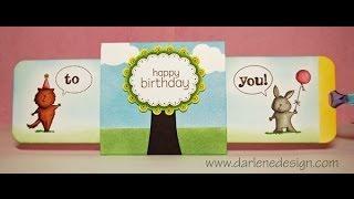getlinkyoutube.com-Double Slider Birthday Card!