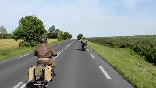 getlinkyoutube.com-WW2 Motorcycles Guinness World Record Attempt