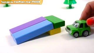 getlinkyoutube.com-Мультфильм про игрушечные машины: эвакуатор, полицейская машина и Макс