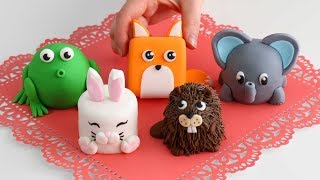 More Mini ANIMAL CAKES