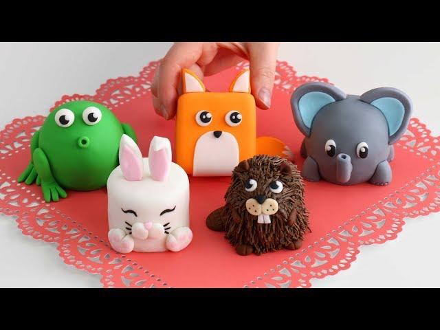 More Mini ANIMAL CAKES