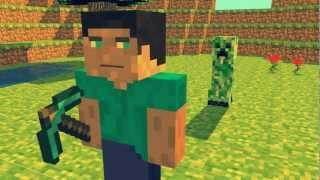 getlinkyoutube.com-Minecraft intro (Free C4D download)