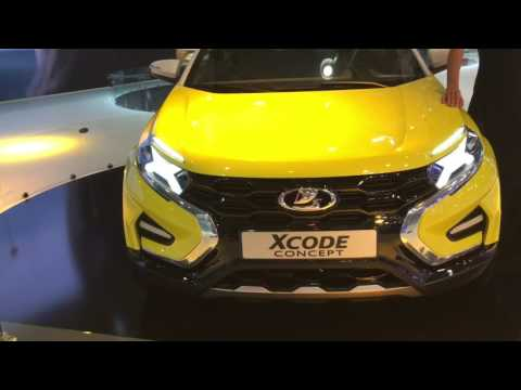 ММАС 2016 обзор: Lada X Ray, X Code. FAWX80. Geely Emgrand X7. DFM AX7. Changan CS75. Hyundai Creta.