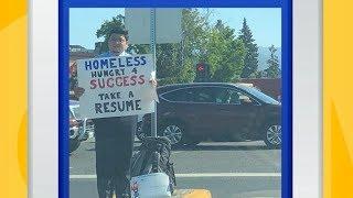 'GMA' Hot List: Viral Tweet Lands Homeless Man Job Interviews