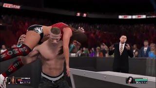 getlinkyoutube.com-WWE 2K15 John Cena buries Nikki Bella and wins the Divas Championship (PS4)