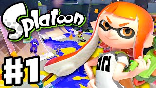 getlinkyoutube.com-Splatoon - Gameplay Walkthrough Part 1 - Intro, Multiplayer, and Single Player (Nintendo Wii U)