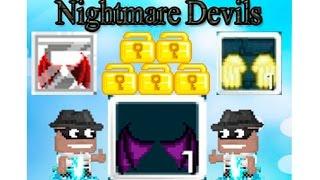 getlinkyoutube.com-Growtopia - Buying Nightmare Devil Wings