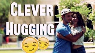 getlinkyoutube.com-Clever Way To Hug People!