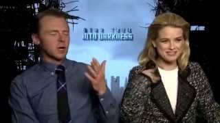 getlinkyoutube.com-Simon Pegg and Alice Eve talk to Joe Michalczuk about Star Trek Into Darkness
