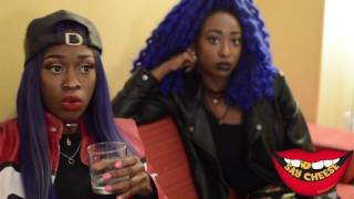 "getlinkyoutube.com-The Stepsisters: ""We been had guns, but we don't promote it.. ""Katie Got Bandz started it"""
