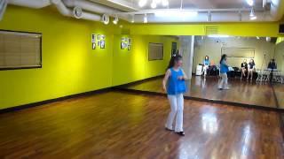 getlinkyoutube.com-Funky Sole (by Robbie McGowan Hickie & Karl-Harry Winson) - Line Dance (Demo & Walk Thru)