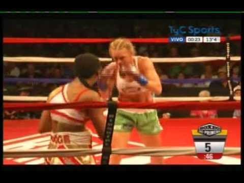 Holly HOLM vs Mary McGEE - IBA - WBF - Full Fight - Pelea Completa - Comenta Erica Farias