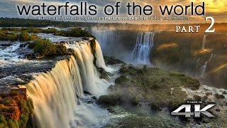 """getlinkyoutube.com-WORLD'S WATERFALLS in 4K [w music] """"Waterfalls of the World 2"""" by Nature Relaxation™"""