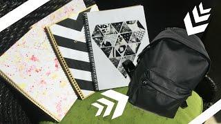 Que hay en mi mochila + Ideas para decorar tus cuadernons + Un regalo para ustedes!!