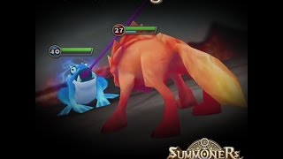 getlinkyoutube.com-Water Horned Frog Solo Faimon Volcano 1 (Summoners War)