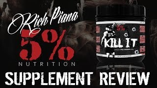 getlinkyoutube.com-Rich Piana 5% Nutrition KILL IT Supplement Review & Taste Test - RATED #1 PREWORKOUT