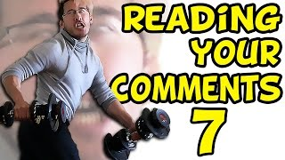 getlinkyoutube.com-MARKIPLIER'S MASSIVE MUSCLES | Reading Your Comments #7