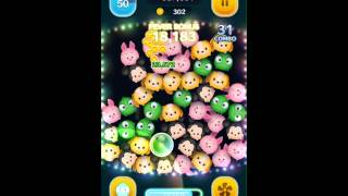 getlinkyoutube.com-Tsum Tsum - Pascal - Skill Level 6 Gameplay High Score Coin Hack
