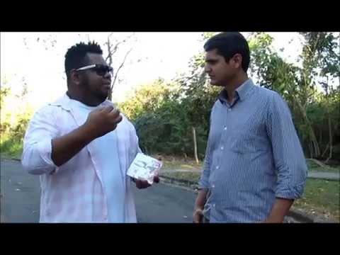 Mr. Pingo concede entrevista para CanaãVIP