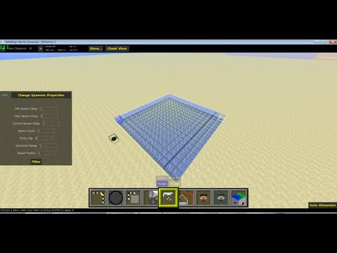 Trampoline in Minecraft