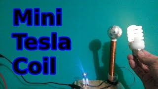 getlinkyoutube.com-How to make a mini Tesla Coil