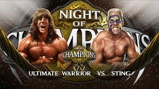 getlinkyoutube.com-WWE 2K15: Ultimate Warrior vs Sting