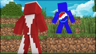 getlinkyoutube.com-Minecraft: PEPSI VS COCA-COLA! A BATALHA! (BUILD BATTLE)