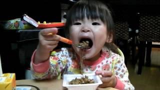 getlinkyoutube.com-今日も納豆ごはんを食べるRino