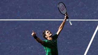 BNP Paribas Open 2017: Roger Federer vs. Stan Wawrinka | Highlights