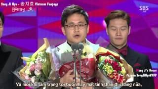 getlinkyoutube.com-[MongJi'sHouse][Vietsub]Running Man Best Program Award SBS Entertainment Award 2014