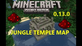 getlinkyoutube.com-[MCPE 0.13.0] JUNGLE TEMPLE MAP W/ REDSTONE TRAPS, CHESTS AND PUZZLE !