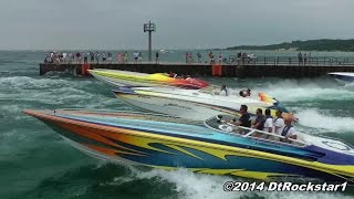 getlinkyoutube.com-100+ Offshore Racing Boats Accelerating!