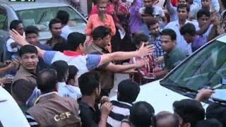All activist attack on Khaleda Zia's motorcade at Karwan Bazar I News & Current Affairs