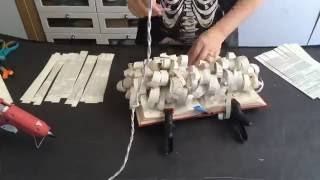 getlinkyoutube.com-Time Lapse Video - Book Art Sculpture