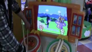 getlinkyoutube.com-マイバチでアンパンマンのたいこでどんどん